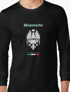 bianchi passione celeste cycle shirt Long Sleeve T-Shirt