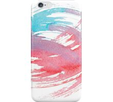 Colorful Watercolor Splash iPhone Case/Skin