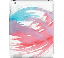 Colorful Watercolor Splash iPad Case/Skin