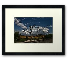 """ Moody Day "" Framed Print"
