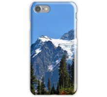 Mount Shuksan Close View iPhone Case/Skin