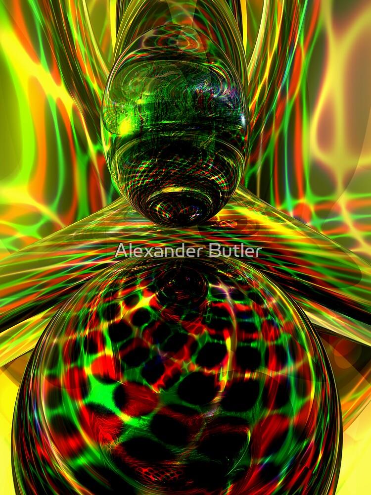 Shock Factor Abstract by Alexander Butler