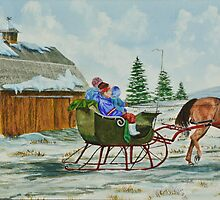 Sleigh Ride by Charlotte  Blanchard