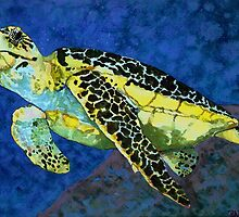 Sea Turtle by Rhonda  Anderson