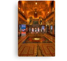 State Theatre HDR Canvas Print
