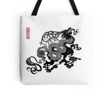 Akin Dragon Tote Bag