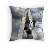 walk of faith Throw Pillow