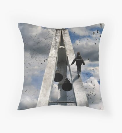 walk of faith Throw Pillow