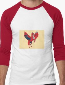 Pegasus Men's Baseball ¾ T-Shirt