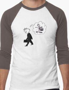 Old Calvin, Good Memories Men's Baseball ¾ T-Shirt