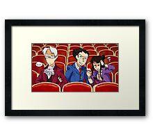 Movie Bros Framed Print