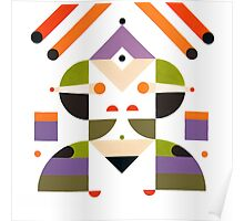 Abstract girl Poster