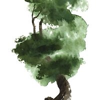 Little Zen Tree 148 by Sean Seal