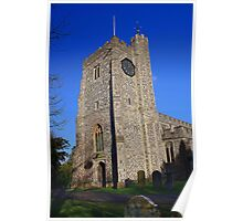 St Mary's Church, Chilham - Tower Poster