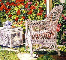 Tea Time by David Lloyd Glover