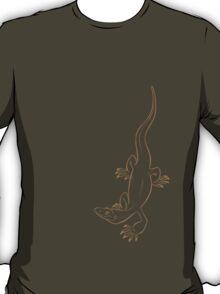 Nile Monitor (beige) T-Shirt
