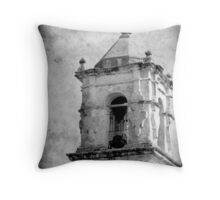 Mission San Jose Bell Tower Throw Pillow