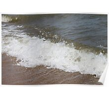 Lake Huron Waves Poster