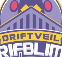 Driftveil Drifblims Sticker