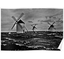 Molino de viento Poster
