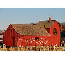 Motif #1 Holiday - Rockport, Massachusetts Photographic Print