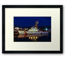 USCGC Grand Isle  - Gloucester, Massachusetts Framed Print