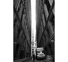 Lonely Financial Zone Photographic Print