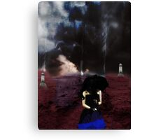 Path of Decay  Canvas Print