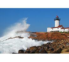 Wave Breaks on Eastern Point - Gloucester, Massachusetts Photographic Print