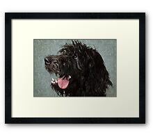 I'm a Good Dog! Framed Print