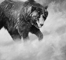 Grizz (B&W) by Will Vandenberg