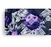 Purple Reign - Abstract Fractal Canvas Print