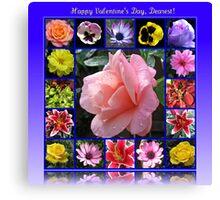 Happy Valentine's Day, Dearest! Canvas Print