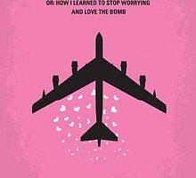 No025 My Dr Strangelove minimal movie poster by JinYong
