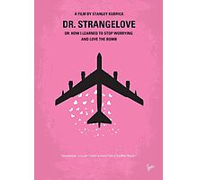 No025 My Dr Strangelove minimal movie poster Photographic Print