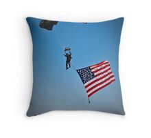 Naval Aviation Parachuting, USA   Throw Pillow