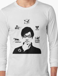 Hideo Kojima Metal Gear Long Sleeve T-Shirt
