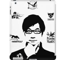 Hideo Kojima Metal Gear iPad Case/Skin