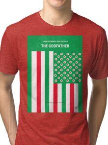 No028 My Godfather minimal movie poster Tri-blend T-Shirt
