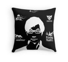 Hideo Kojima Metal Gear - Black Throw Pillow