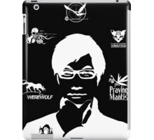 Hideo Kojima Metal Gear - Black iPad Case/Skin