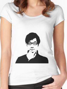 Hideo Kojima Women's Fitted Scoop T-Shirt