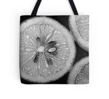 Lemon Texture Tote Bag
