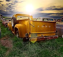 Ford Truck into the Sunset by Patrick Kavanagh