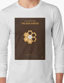 No019 My Deerhunter minimal movie poster Long Sleeve T-Shirt
