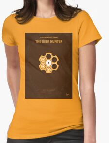 No019 My Deerhunter minimal movie poster Womens Fitted T-Shirt