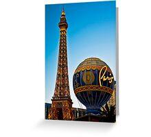Romantic Paris Greeting Card