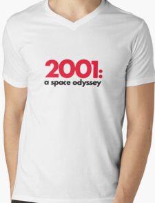 2001 Mens V-Neck T-Shirt