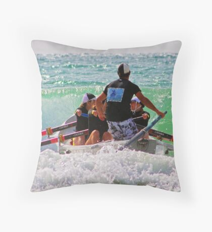 2011 Masters, Lorne (03) Throw Pillow