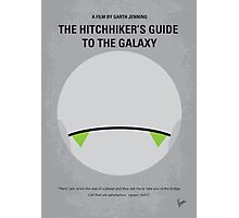No035 My Hitchhiker Guide minimal movie poster Photographic Print